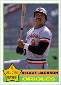 Reggie Jackson Baltimore Orioles