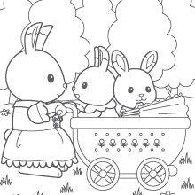 Billedresultat For Sylvanian Families Coloring Pages