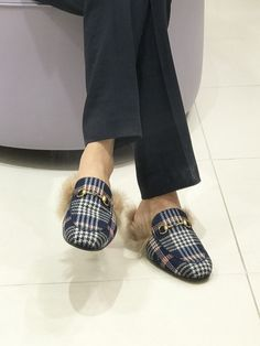 Princetown Plaid loafer Gucci UHGXyzl