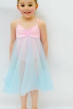 Felicity Ballet Dress Leotard dance costume in girls sizes 2-14 | YouCanMakeThis.com