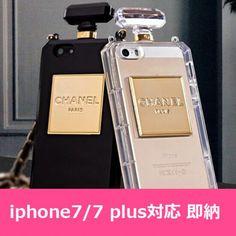 シャネル アイフォン7/7plusカバー 香水柄 iPhone6/6s plus/SEケース セレブ愛用 ギャラクシー S6/S7 edge 女性向け チェーン付き iPhone5/5sケース