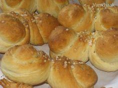 Žemle pletené (fotorecept) Ciabatta, Hamburger, Bread, Food, Basket, Brot, Essen, Baking, Burgers