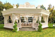 Modern Exterior House Designs, Dream House Exterior, Exterior Design, House Outside Design, House Front Design, Classic House Design, Dream Home Design, Modern Mediterranean Homes, Gazebos