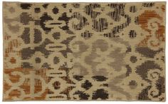 Townhouse Rugs 24-Inch by 40-Inch Area Rug, Ikat Patchwork, Neutral by Townhouse Rugs, http://www.amazon.com/dp/B009IG50UC/ref=cm_sw_r_pi_dp_9OOCrb0ZQMY4D