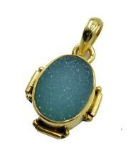 exquisite Druzy Gold Plated Multi Pendant jaipur US gift