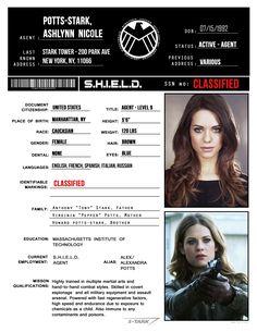 S.H.I.E.L.D. Personnel File: Ash Stark [thedaughterofstark]