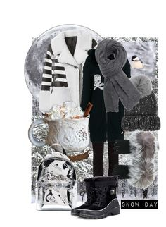 """""""Snow Day"""" by pretty8happy ❤ liked on Polyvore featuring Dolce&Gabbana, Philipp Plein, Eugenia Kim, Isabel Marant, N.Peal, Heron Preston and SOREL"""