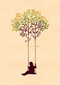 The tree from your childhood Art Print by Budi Satria Kwan | Society6