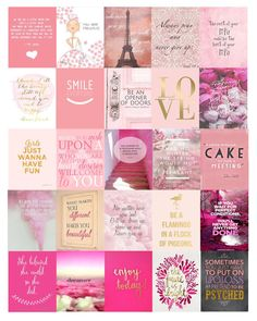 Pink Quote Planner autocollants par DigiDiDigitalDesigns sur Etsy