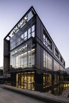 Multicarpet Rollux Showroom / +arquitectos | ArchDaily