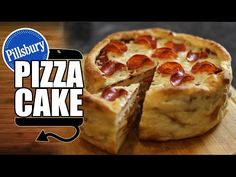 Pillsbury Pepperoni Pizza Cake Recipe - HellthyJunkFood - YouTubeDANNY'S B-DAY CAKE