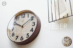 【インターフォルム】KLEBER[クレベール]■壁掛け時計:【smtb-k】【kb】:INTERFORM  http://item.rakuten.co.jp/interform-inc/cl-8331/