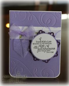 ODBDSLC186 Sketch Stamps - Our Daily Bread Designs Lavender, Faith