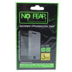 No Fear iPhone 4G Film Protector