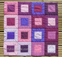 Folded Patchwork Tutorial Free tutorial!