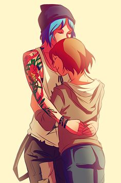 Life Is Strange: Pricefield Cuddles by Ma-rin