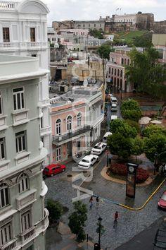 Puerto Rico Old San Juan Calle Tetuan