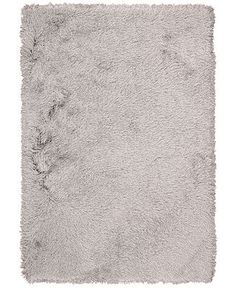 kathy ireland Home Studio Shag Sunset Boulevard Silver Area Rug - Shop All Rugs - Rugs - Macy's
