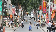 Western Tokyo Kagurazaka | French cafes in Tokyo | French schools in the area.