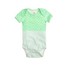 J.Crew - Baby one-piece in colorblock floral