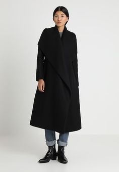 A must-have for any fashionista, our women's wool coats are the perfect final layer Wrap Coat, Personal Style, Wool, How To Wear, Black, Dresses, Fashion, Classic, Vestidos