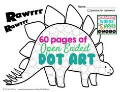Open Ended Dot Art {NO PREP!}