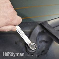 Do your windshield wipers leave unwiped spots for no apparent reason, even after you replaced the blades? Chances are the hinge is binding from corrosion. We'll show you how to replace the wiper arm and fix this problem.