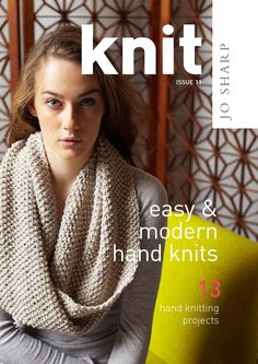 Knit issue 11 jo sharp  Knitting patterns