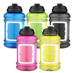 2.2L Sport Gym Training Drink Water Bottle with Storage Case Big Large Capacity Kettle for Outdoor Picnic Bicycle BPA Free