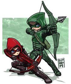 Red & Green Arrow