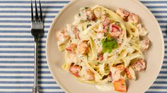 Lobster Fettuccine - Recipes - Best Recipes Ever - Lobster is so luxurious that it's perfect for special occasions.
