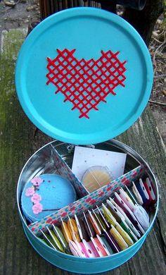 Embroidery Tin