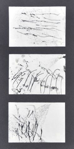 Erica Verlaan (NL) monoprint blacks - no title