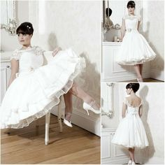 WS019 Elegant sweet heart top lace cap sleeve short wedding dress, View short wedding dress, Yuefei Product Details from Suzhou YueFei Wedding Dress Co., Ltd. on Alibaba.com