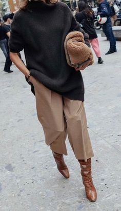 20 autumn outfit ideas that will inspire you for cooler weather .- 20 autumn outfit ideas that will inspire you for cooler weather # cooler Winter Outfits For Teen Girls, Fall Winter Outfits, Autumn Winter Fashion, Autumn Outfits Women, Winter Wear, Jeggings Outfit, Pants Outfit, Dress Pants, Mode Outfits