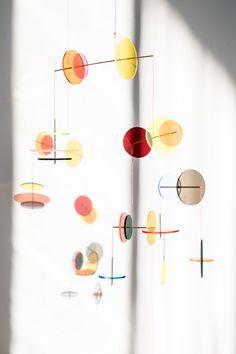 LMC Mobile from Jordi Canudas Studio, 2017 for sale at Pamono Paper Mobile, Hanging Mobile, Hanging Art, Design Shop, Design Studio, Web Design, Mobiles Art, Mobile Sculpture, Kinetic Art