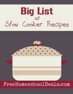 Slow Cooker Recipes: Over 50 appetizers, breads, entrees, side dishes, soups, and even desserts to fill your meal plans with easy recipes!