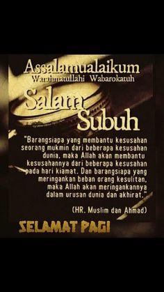Salam Subuh Yang Indah : salam, subuh, indah, Salam, Subuh,, Ideas, Salam,, Assalamualaikum, Image,, Muslim, Quotes