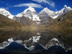 'Calm Reflection', Cordillera Huayhuash, Peru by McBruce