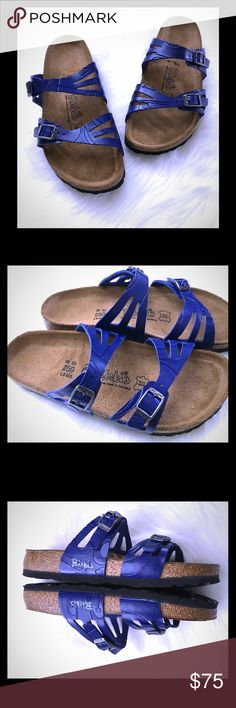Birkis by Birkenstock Embossed Granada Sandals NIB Birkenstock Shoes Sandals