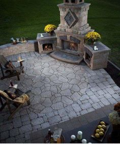 Another beautiful fire pit.
