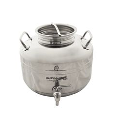 Stainless Steel Dispenser 10 L (2.6 gal.) by Life Without Plastic