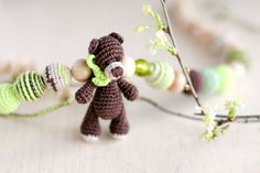 Natural woodland Organic Teething mommy Nursing by kangarusha, $45.00    Even sweeter <3