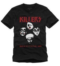 Camiseta Killers  wwww.laditta.com.br #tshirt #killers #laditta