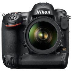 Nikon D4 16.2 MP DSLR Camera