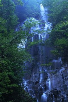 Soothing sounds of the waterfalls...