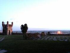 Questa mattina al Castello Rosso...