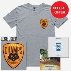 State Champs (CD + T-Shirt Bundle)