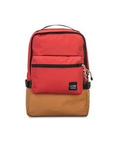 dcbb97194c24 Buy Slingsafe anti-theft compact backpack by Pacsafe. Its padded laptop  sleeve and RFIDsafe pocket makes cruising through the city convenient.