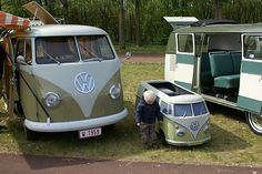 Not a double cab, but still very cool.  T1 for young and old by kath & theo, via Flickr